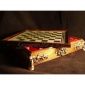 Chess box - Art Nouveau